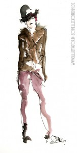 Fashion Illustration Eve